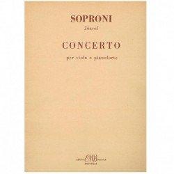 Soproni. Concierto (Viola y...