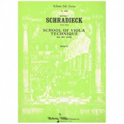 Schradieck. School of Viola Technique Vol.2