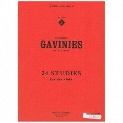 Gavinies. 24 Estudios para...