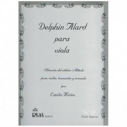 Alard. Selección del Método Alard por Emilio Mateu Vol.3 (Viola)