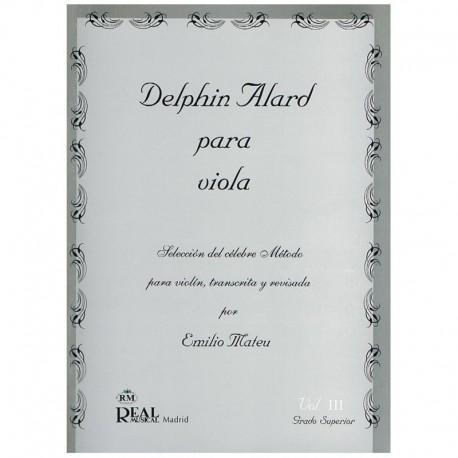 Alard, Delph Selección del Método Alard por Emilio Mateu Vol.3 (Viola)