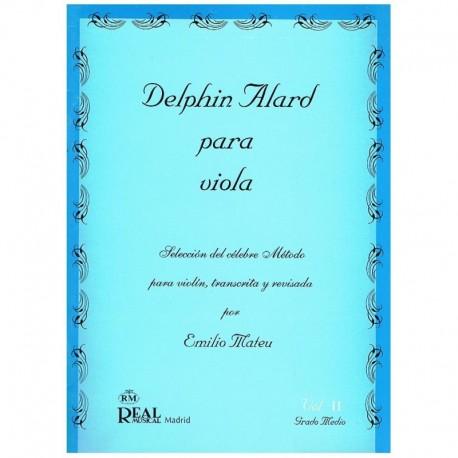 Alard, Delph Selección del Método Alard por Emilio Mateu Vol.2 (Viola)