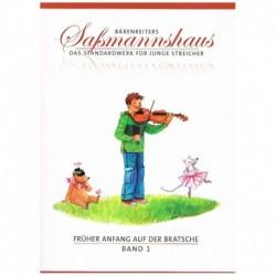 Sassmannshau Metodo Principiante de Viola Vol.1