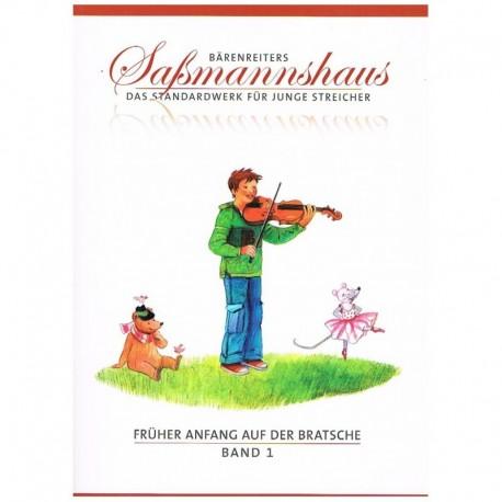 Sassmannshaus. Metodo Principiante de Viola Vol.1