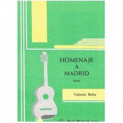 Bielsa, Vale Homenaje a Madrid (Bolero) (Guitarra)