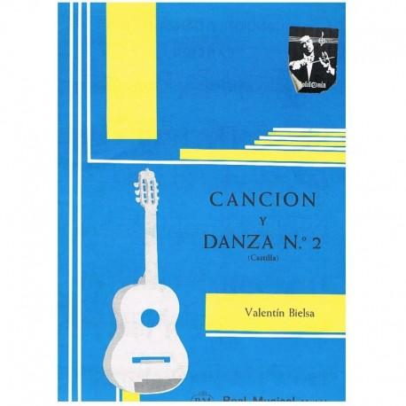 """Bielsa, Vale Cancion y Danza Nº2 Castilla (Guitarra)"""""""""""