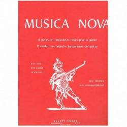 Varios. Música Nova. 13 Piezas de Compositores Belgas (Guitarra)