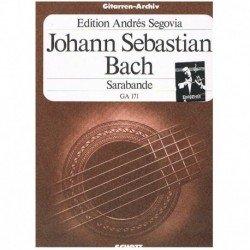 Bach, J.S Sarabande GA.171 (Guitarra)