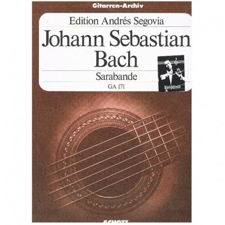 Bach, J.S. Sarabande GA.171 (Guitarra)