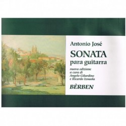 Jose, Antoni Sonata para Guitarra