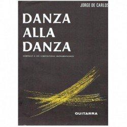 De Carlos. Danza Alla Danza Op.8 Nº5 (Guitarra)
