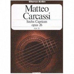 Carcassi. 6 Caprichos Op.26 (Guitarra)