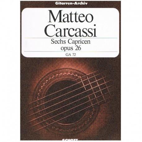 Carcassi, Ma 6 Caprichos Op.26 (Guitarra)