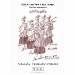 Brotons, Sal Sonatina para Guitarra