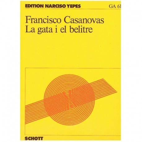 Casanovas, F La Gata i el Belitre (Guitarra)