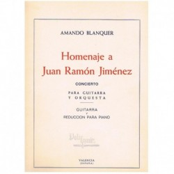 Homenaje a Juan Ramon Jimenez (Guitarra y Piano)
