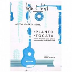 Garcia Abril. Planto/Tocata (De las 24 Piezas de Vademecum) (Guitarra)