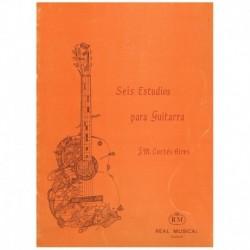 Cortes Aires 6 Estudios para Guitarra