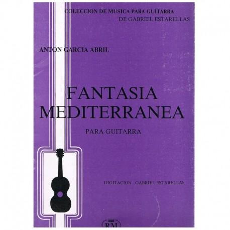 Garcia Abril Fantasía Mediterránea (Guitarra)
