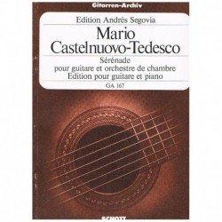 Castelnuovo Tedesco. Serenata Op.118 (Guitarra y Piano)
