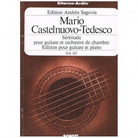 Castelnuovo- Serenata Op.118 (Guitarra y Piano)