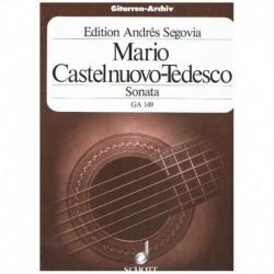 Castelnuovo Tedesco. Sonata (Homenaje a Boccherini) (Guitarra)