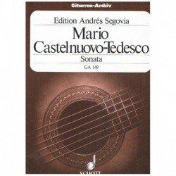 Castelnuovo- Sonata (Homenaje a Boccherini) (Guitarra)