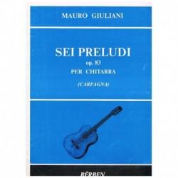 Giuliani. 6 Preludios Op.83 (Guitarra)