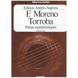 Moreno Torroba. Piezas...