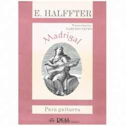 Halffter. Madrigal (Guitarra)