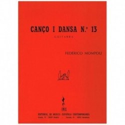 Mompou. Cancion y Danza...