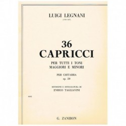 Legnani. 36 Caprichos Op.20...