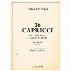 Legnani, Lui 36 Caprichos...