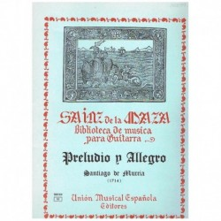 Preludio y Allegro (Guitarra)