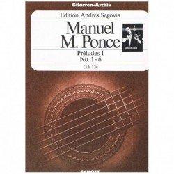 Ponce, Manue Preludios...