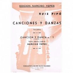 Ruiz Pipó. Cancion y Danza...