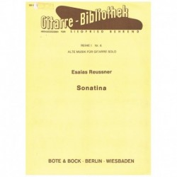 Reussner. Sonatina (Guitarra)