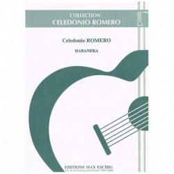 Romero. Habanera (Guitarra)