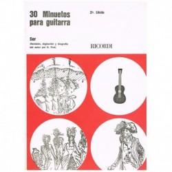 Sor. 30 Minuetos para Guitarra