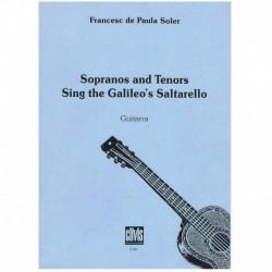 De Paula. Sopranos and Tenors Sing The Galileo's Saltarello (Guitarra)