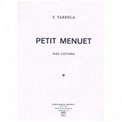 Petit Menuet (Guitarra)
