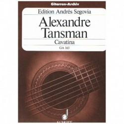 Tansman. Cavatina (Guitarra)
