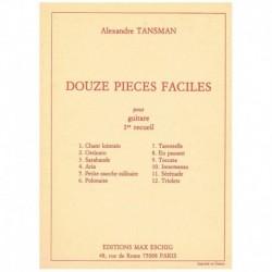 Tansman. 12 Piezas Faciles...