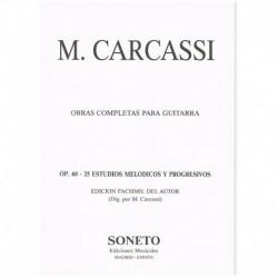 Carcassi. 25 Estudios...