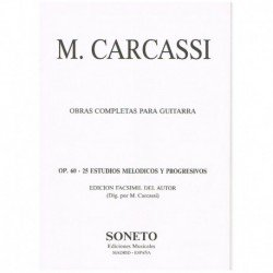 Carcassi, Ma 25 Estudios...