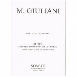 Giuliani. Estudios...