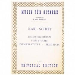 Scheit, Karl Primeros...