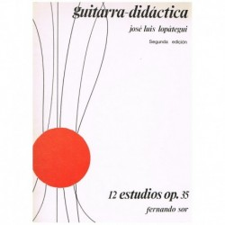 Sor. 12 Estudios Op.35 (Rev. Lopategui) (Guitarra)
