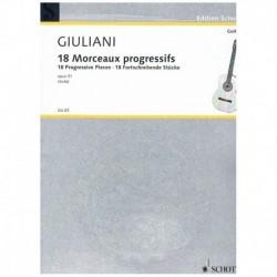 Giuliani, Ma 18 Piezas...