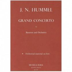 Hummel. Gran Concierto (Fagot y Piano)